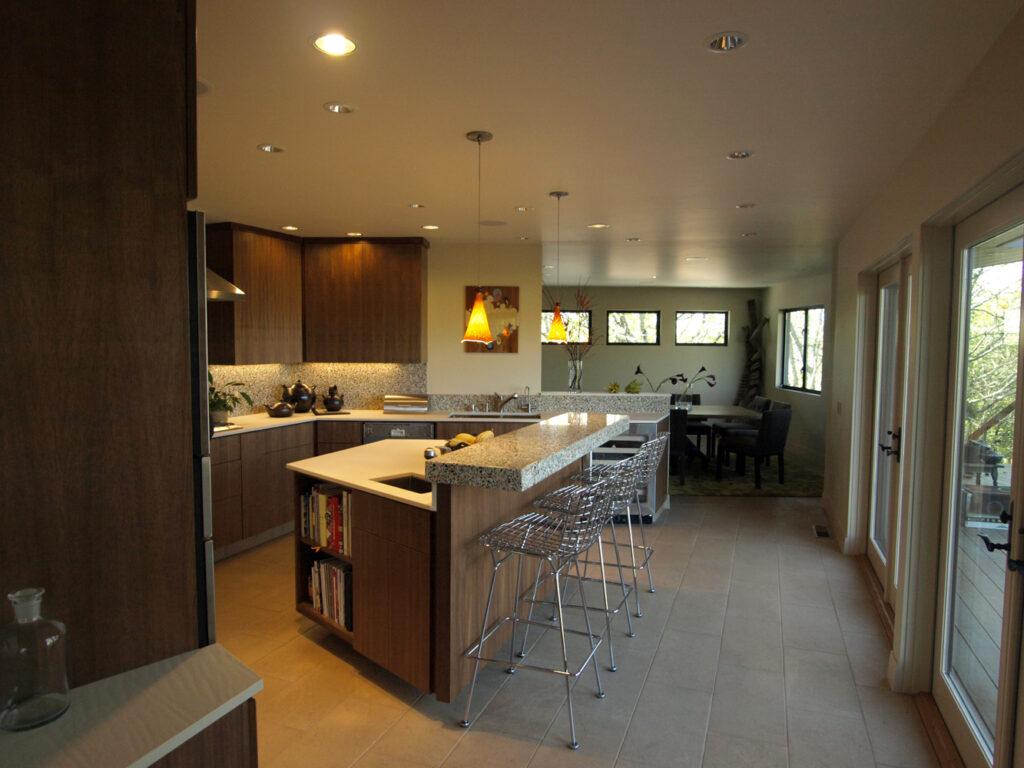 Sonoma Contemporary Home Kitchen