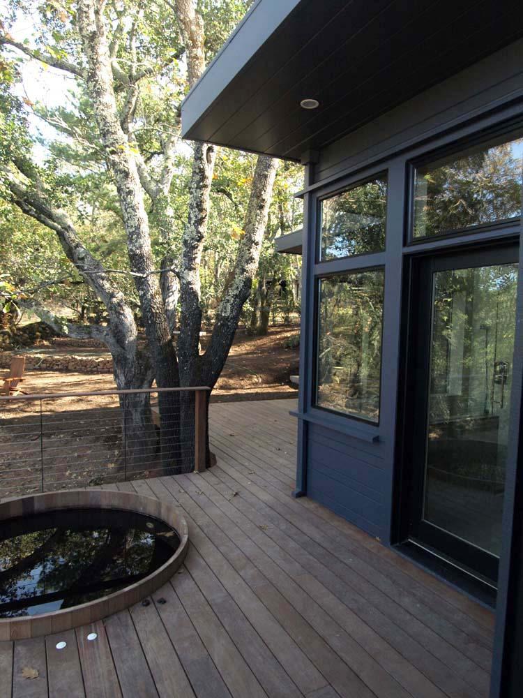 Sonoma Contemporary Home Exterior