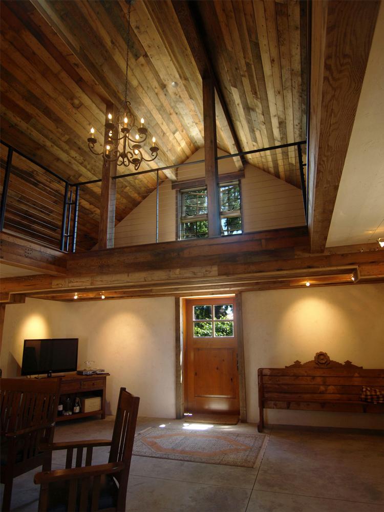 Historic Sonoma Barn Ceilings