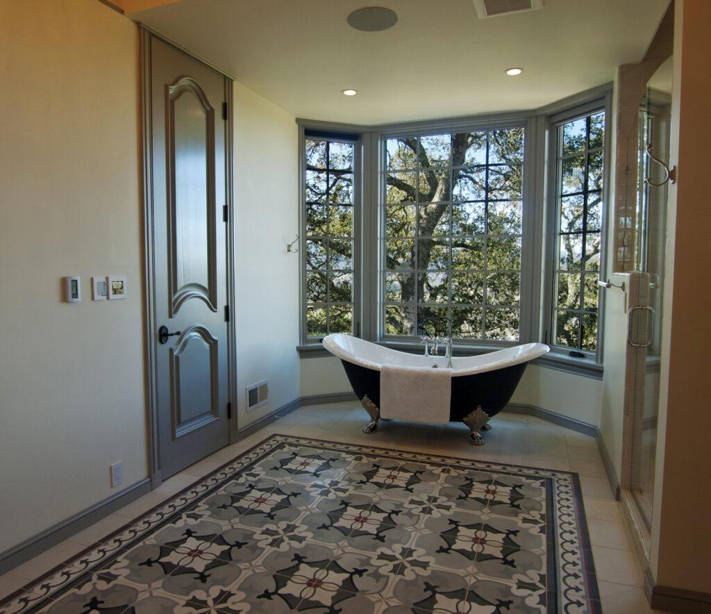 Napa Valley Estate Bathroom