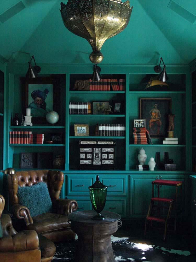 Healdsburg Main House Green Room