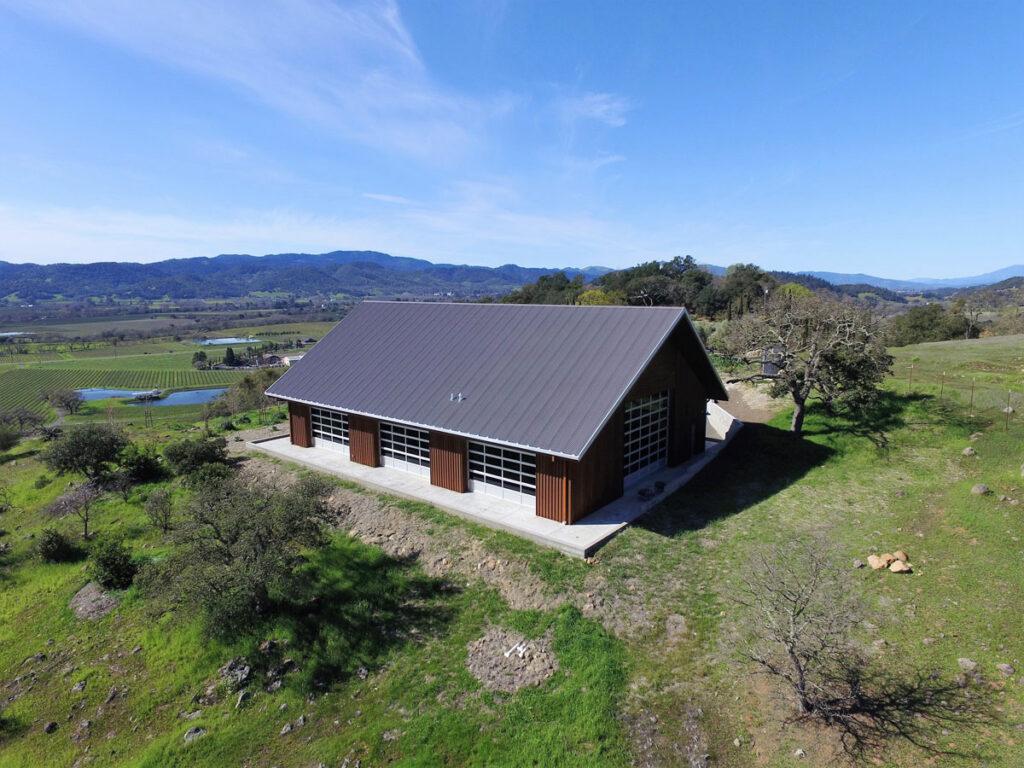 Napa Valley Estate Barn
