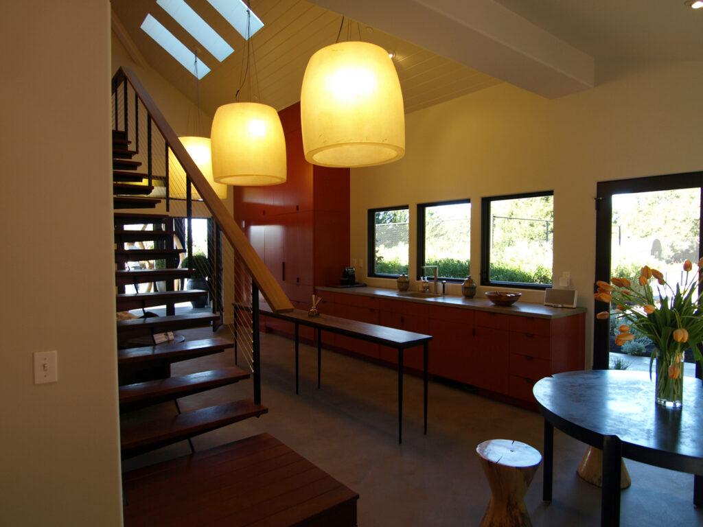 Healdsburg Guest House Kitchen